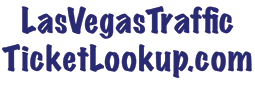 Las Vegas Traffic Ticket Lookup