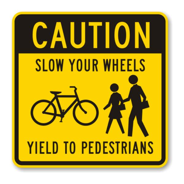 No dar paso a los peatones